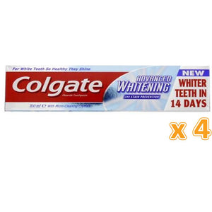 Colgate Advance White Toothpaste (4 x 100 ml) - Sanadeeg