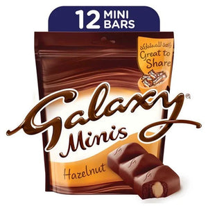 Galaxy Minis Hazelnut Chocolate Mini Bar ( 150 gm)