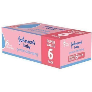 Johnson's Gentle Cleansing Wipes (6 x 56 Wipes)