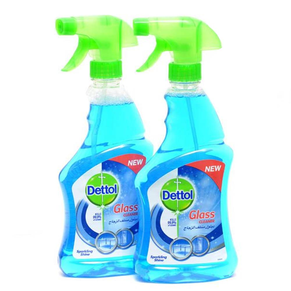 Dettol  Glass Cleaner ( 2 x 500 ml)