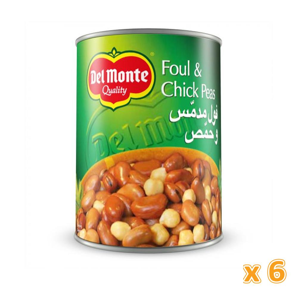 Del Monte Foul Medammas With Chickpeas (6 X 400 Gm)