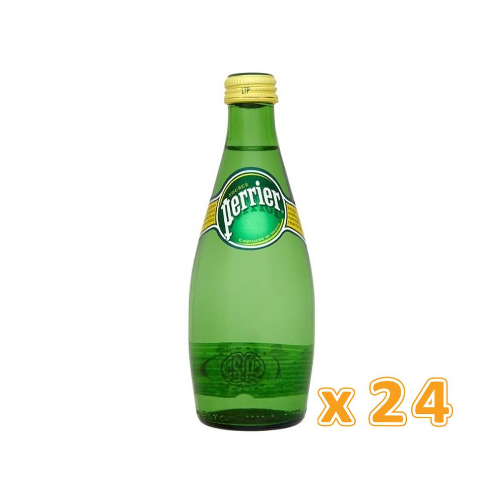 Perrier Sparkling Mineral Water (24 x 330 ml)