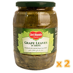 Del Monte Grape Leaves In Brine (2 X 907 Gm) - Sanadeeg