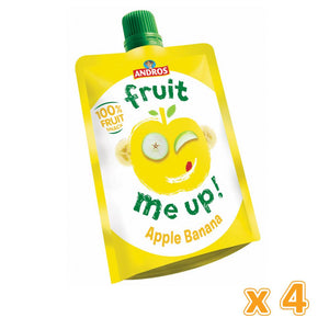 Fruit Me Up Apple Banana (4 x 90 Gm) - Sanadeeg