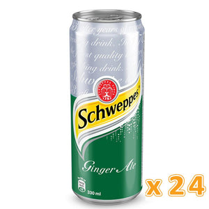 Schweppes Ginger Ale Can (24 x 330 ml) - Sanadeeg