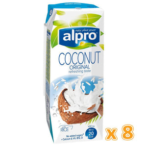Alpro Coconut Original Milk Drink ( 8 x 1L) - Sanadeeg