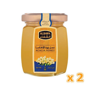 Al shifa Acacia Honey (2 x 125 gm)