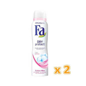 Fa Spray Deodorant - Dry Protect (2 X 150 ml) - Sanadeeg