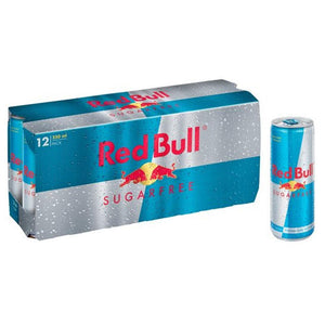 Red Bull Energy Drink Sugar Free (12 x 250 ml)
