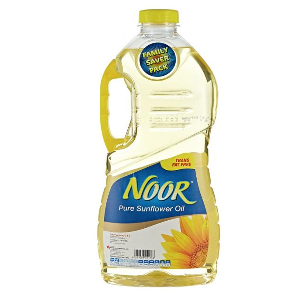 Noor Sunflower Oil (3 L) - Sanadeeg