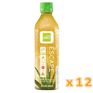 Alo Escape Pineapple, Guava and Seabuck Thorn Berry Aloe Vera Juice (12 x 500ml) - Sanadeeg