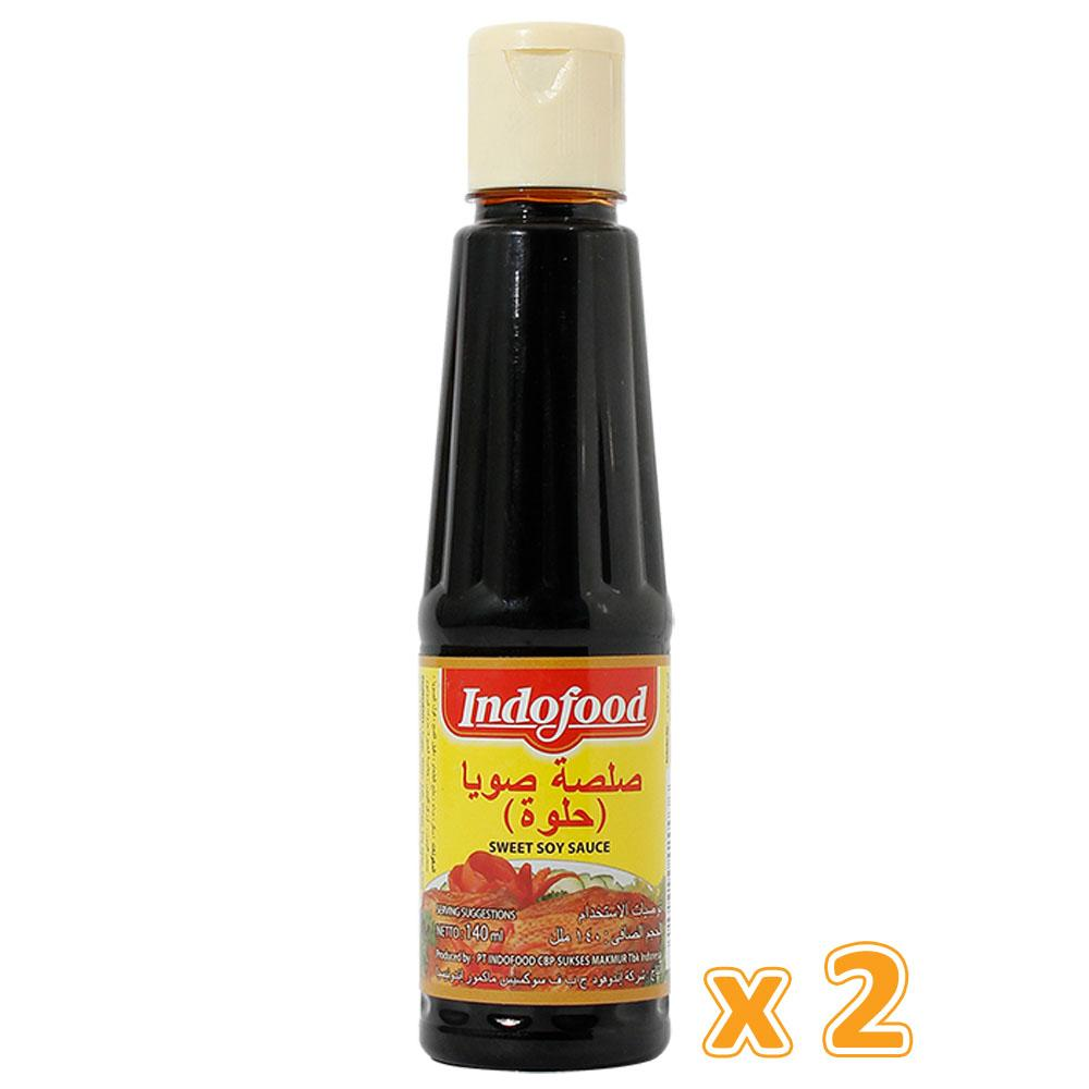 Indofood Sweet Soy Sauce ( 2 x 140 ML) - Sanadeeg