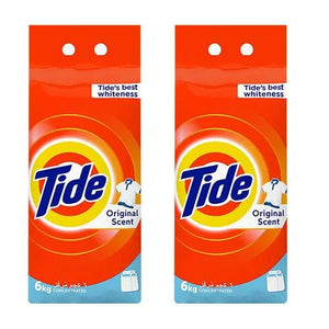 Tide Washing Powder Concentrated Original Scent (2 x 6 KG)