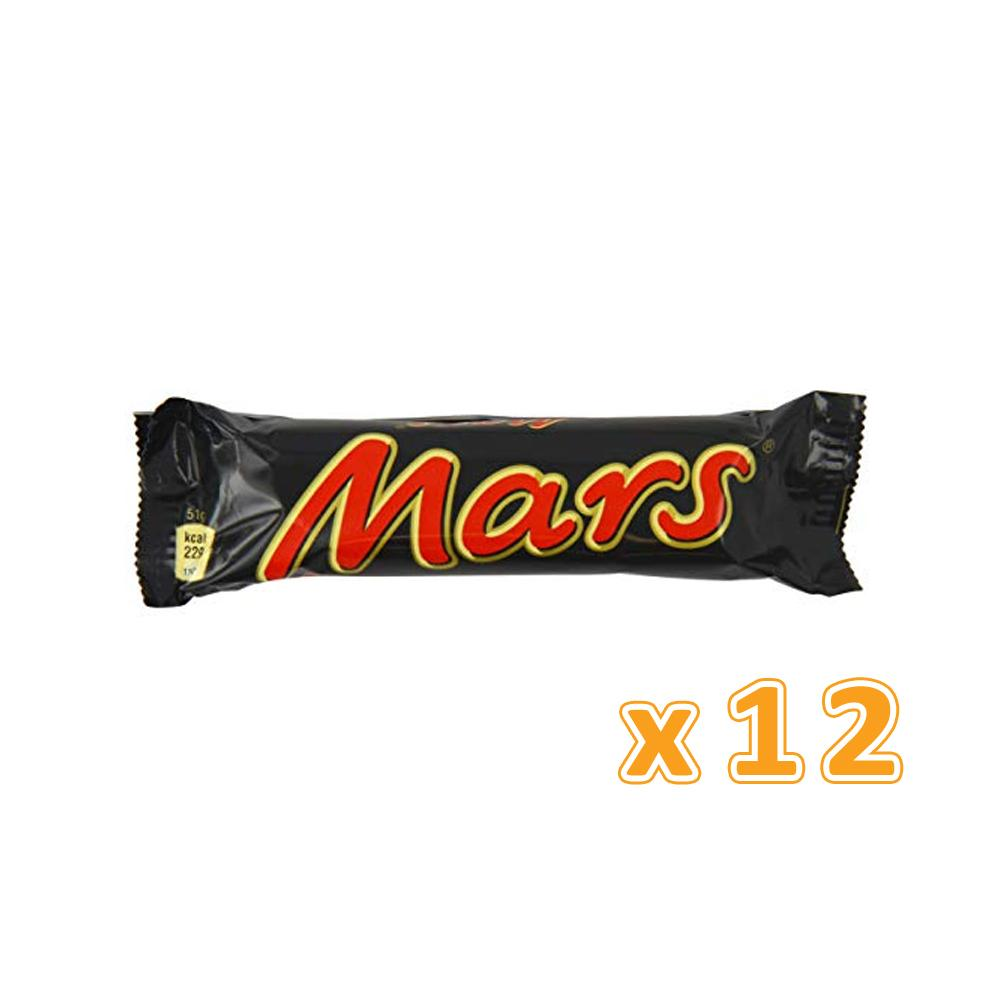 Mars Chocolate Bars (12 x 51 gm)