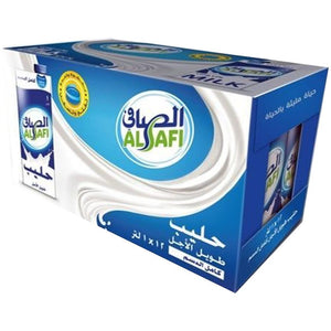 Al Safi Long Life Full Cream 100% Cow's Milk (12 x 1L)