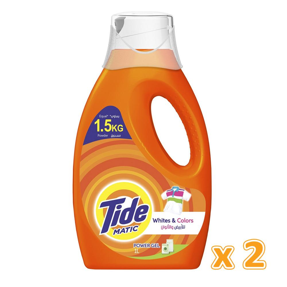 Tide Matic Power Gel (2 X 1 L)