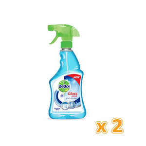 Dettol  Glass Cleaner ( 2 x 500 ml) - Sanadeeg