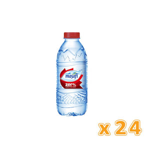 Masafi Bottled Drinking Water Zero Sodium (24 x 330 ml)
