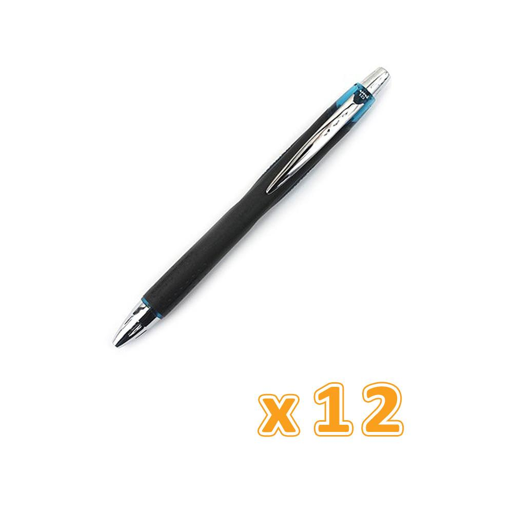 Uni Ballpen Jetstream Medium Tip Black ( 12 Pens) - Sanadeeg