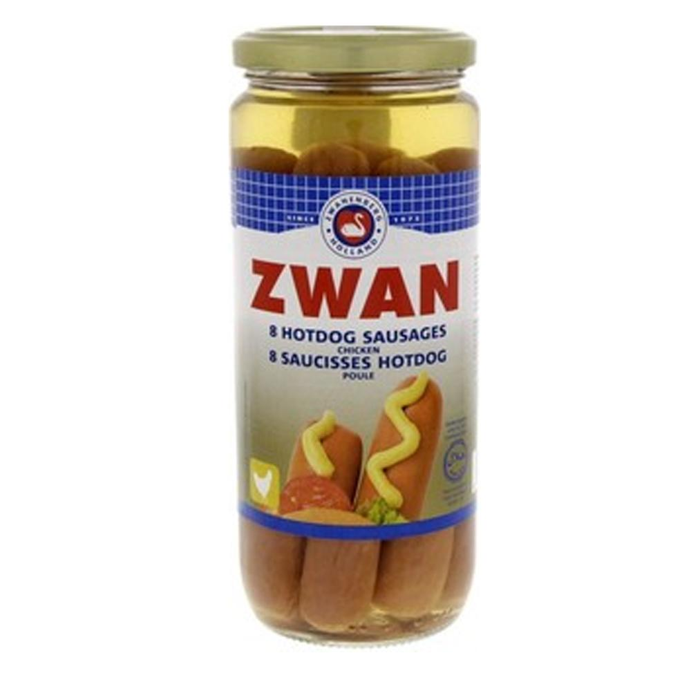 Zwan Chicken Premium Hot dog (520 Gm)