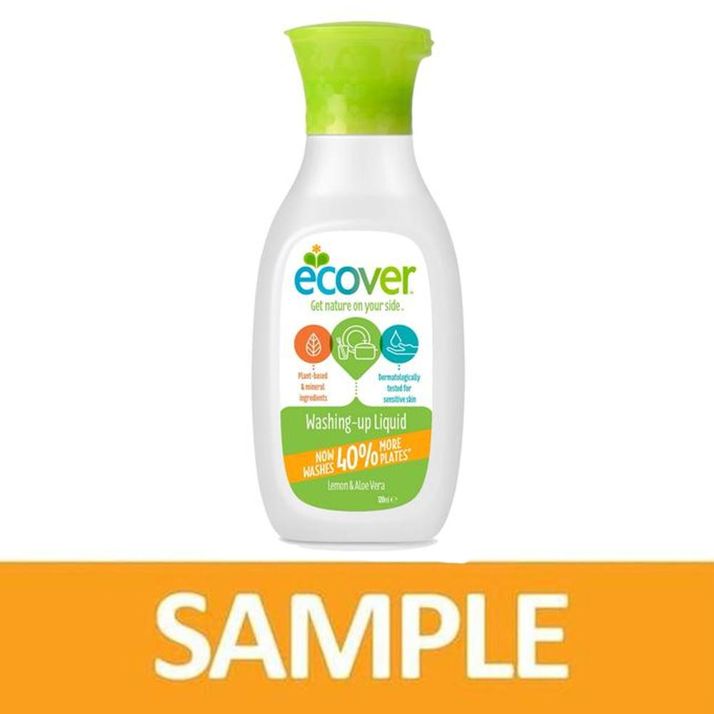 Ecover Washing-Up Liquid Lemon & Aloe Vera 100 ml (Free Sample)