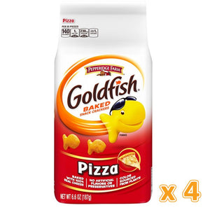 Peppridge Farm GoldFish Baked Snack Crackers - Pizza (4 X 187 gm) - Sanadeeg