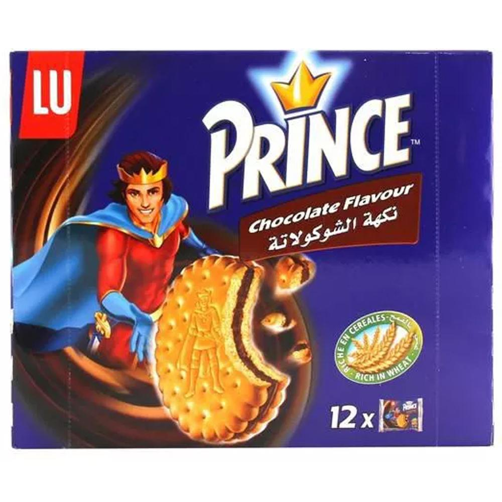 Lu Prince Biscuit Value Pack Chocolate Flavor ( 12 x 40 Gm) - Sanadeeg