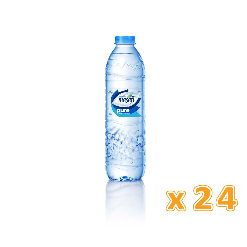 Masafi Bottled Drinking Water (24 x 500 ml)