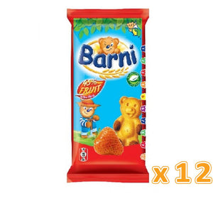 Barni Cake with Strawberry  ( 12 x 30 Gm) - Sanadeeg
