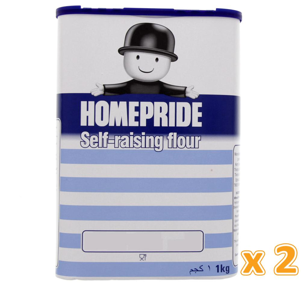 Home Pride Self Raising Flour ( 2 x 1 Kg) - Sanadeeg
