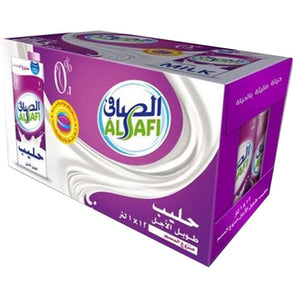 Al Safi Long Life Skimmed Cream 100% Cow's Milk (12 x 1L)