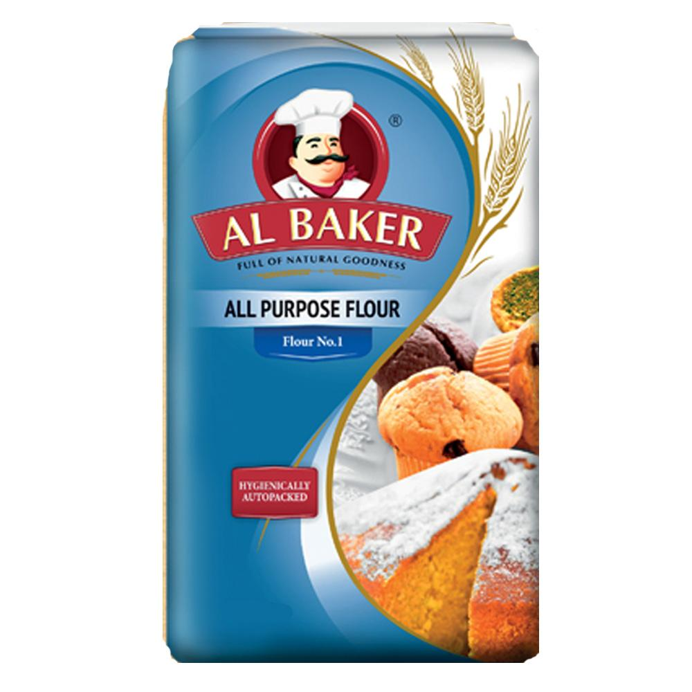 Al Baker All Purpose Flour (3 KG) - Sanadeeg