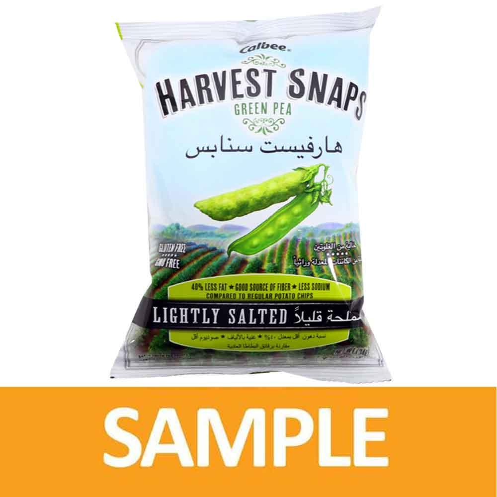 Harvest Snaps Green Pea Crisps Lightly Salted 34 Gm ( Free Sample )