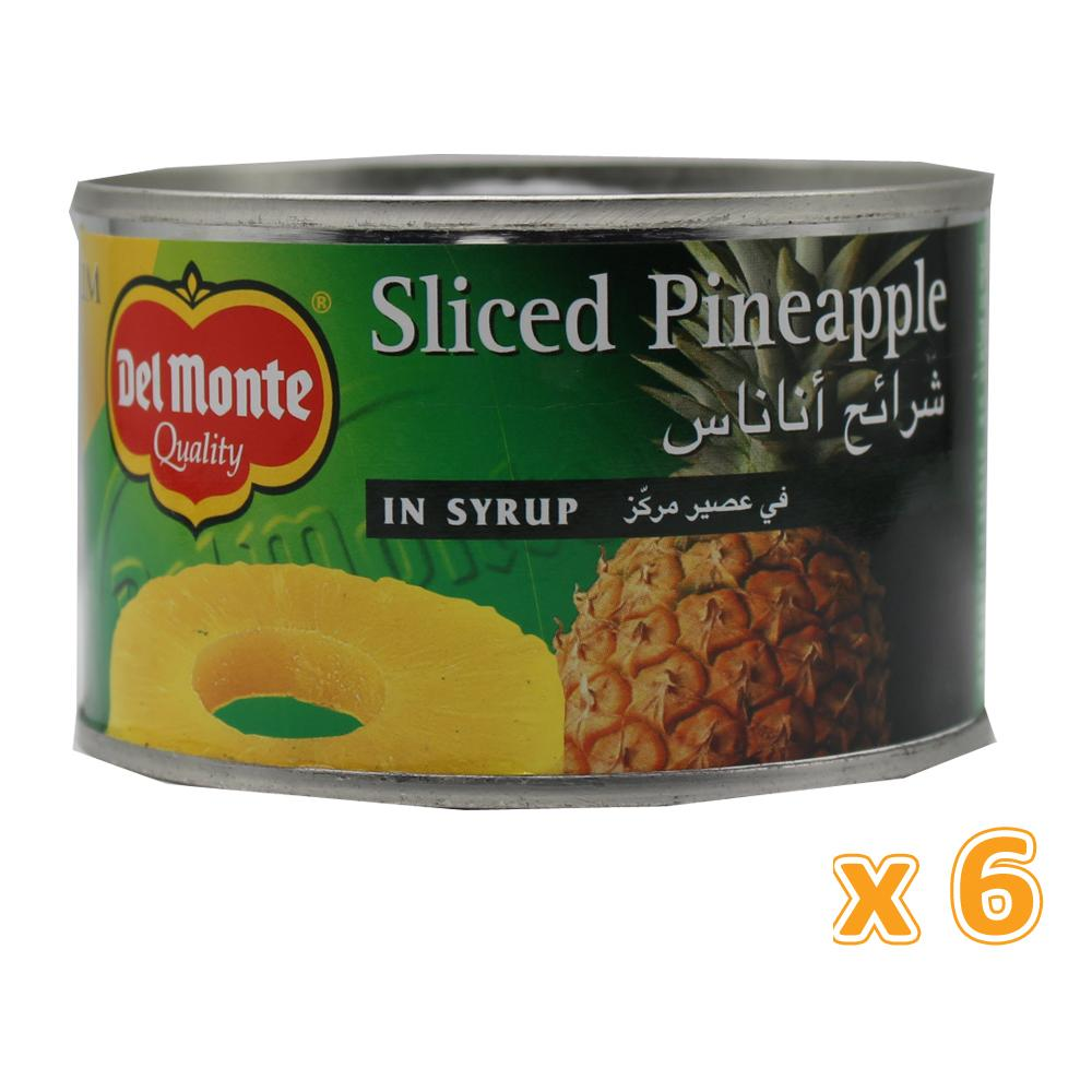 Del Monte Pineapple Slices in Syrup (6 X 234 Gm) - Sanadeeg