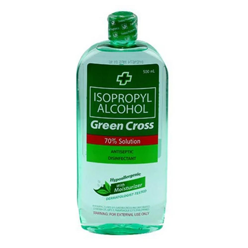 Green Cross Isopropyl Alcohol 70% Solution With Moisturizer (500 ml)