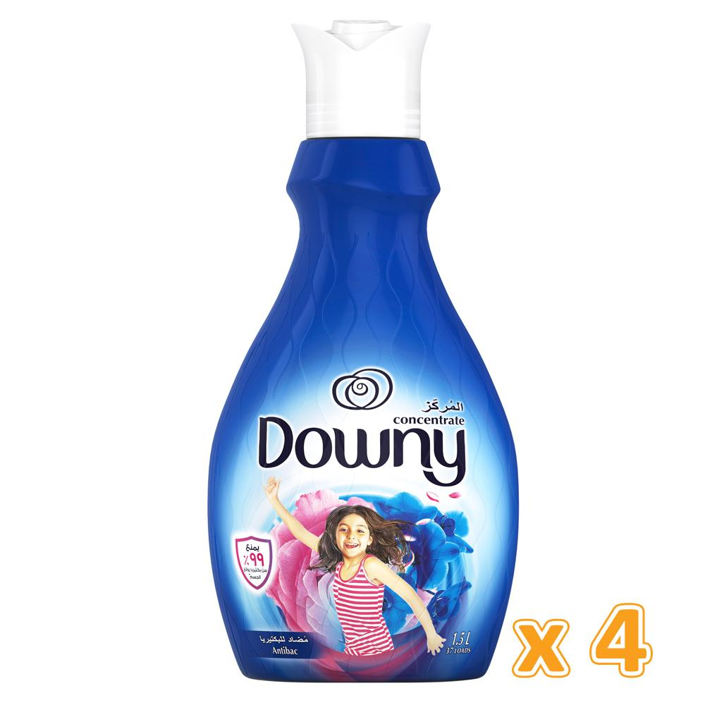 Downy Concentrate Antibacterial (4 x 1.5 L) - Sanadeeg