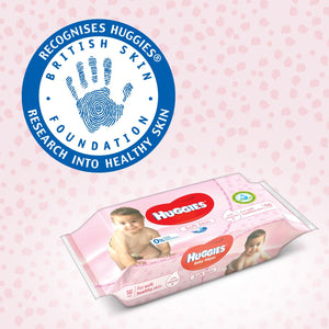 HUGGIES BABY WIPES SOFT SKIN (3 x 56 Sheets) - Sanadeeg