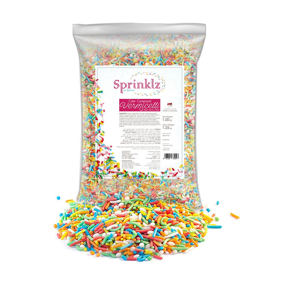 Sprinklz Colour Sprinkles (1 KG)
