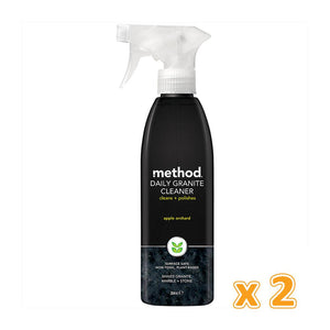 Method Daily Granite+Marble Cleaner Spray Orchard Blossom (2 x 354 ML) - Sanadeeg