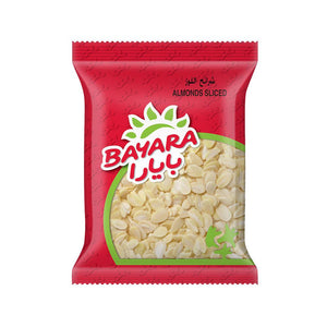 BAYARA ALMONDS SLICED (200 gm) - Sanadeeg