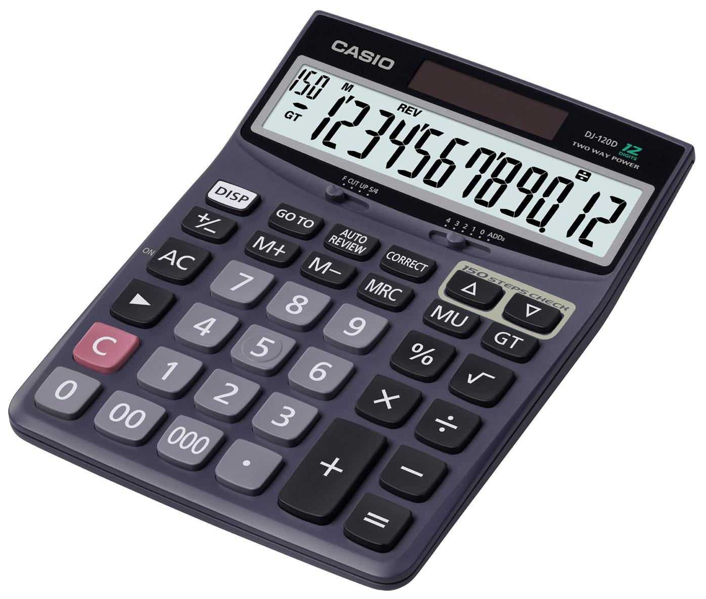 Casio Calculator DJ-120D Plus (12 Digit) - Sanadeeg