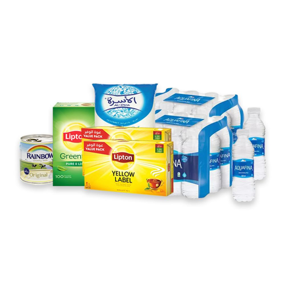 Tea Essentials with Free Aquafina Pack !!!