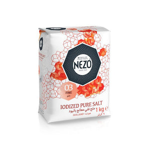 Nezo Iodized Table Salt (1 KG) - Sanadeeg