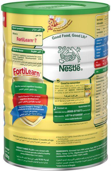Nestlé® NIDO® FortiProtect™ Three Plus (3-5 Years Old) Growing Up Milk Tin  1800g