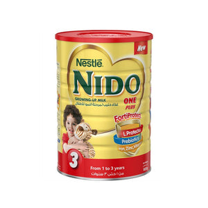 Nestlé® NIDO® FortiProtect™ One Plus (1-3 Years Old) Growing Up Milk Tin 1800g - Sanadeeg