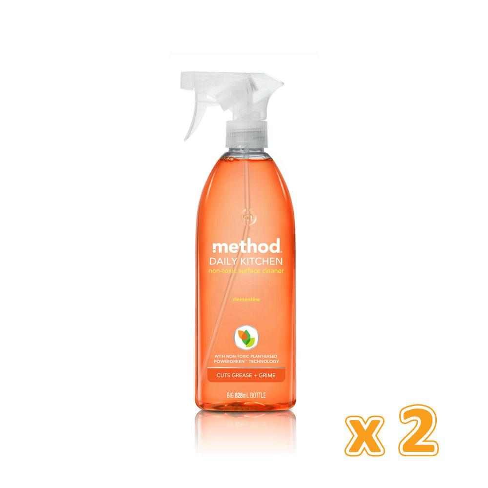 Method Daily Kitchen Spray (2 x 828 ML) - Sanadeeg