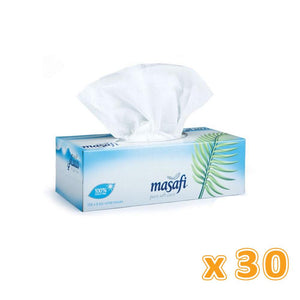 Masafi White Facial Tissues - 2 Ply (30 x 150 Sheets)