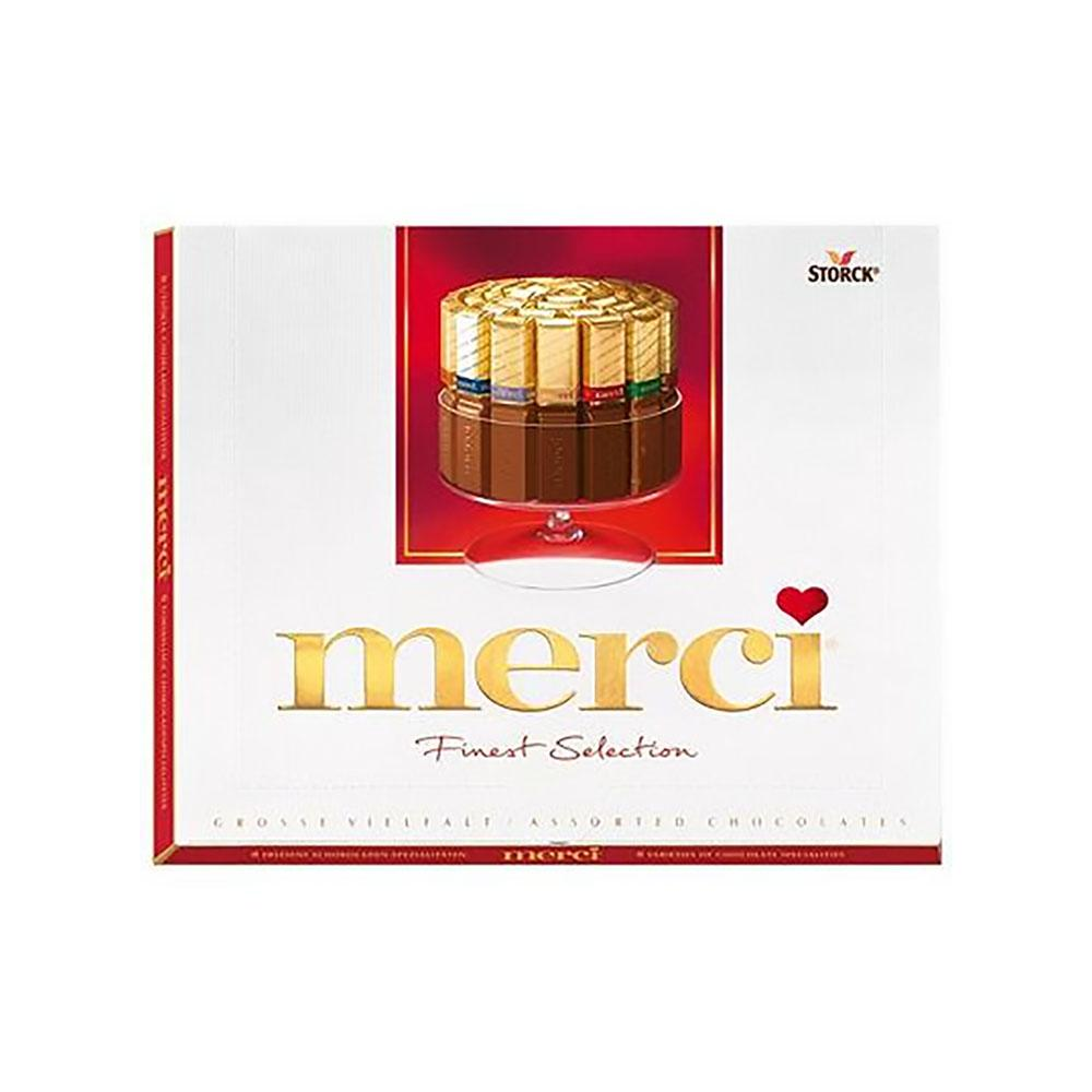 Merci Finest Selection Assorted Chocolate ( 250 GM) - Sanadeeg