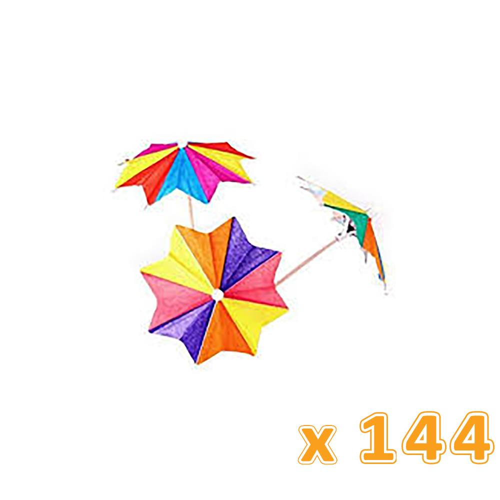 Falcon PARASOL PICKS OCTAGONAL UMBRELLA 10 cm (144 Pcs) - Sanadeeg