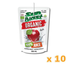 Sun Blast Organic Apple Juice (10 X 200 ml) - Sanadeeg